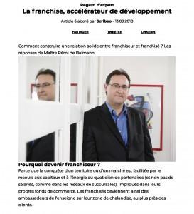 La franchise, accélérateur de développement – Dossiers Partenaires